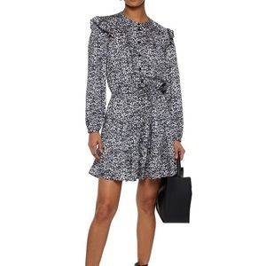 Rebecca Minkoff black and white floral dress